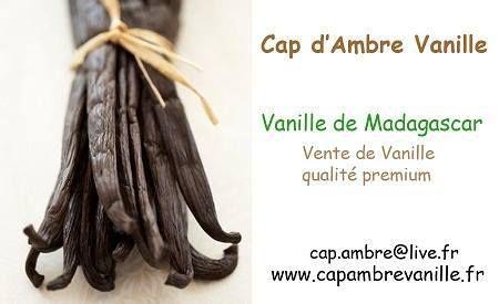 17 eme partenariat  Cap d'Ambre Vanille
