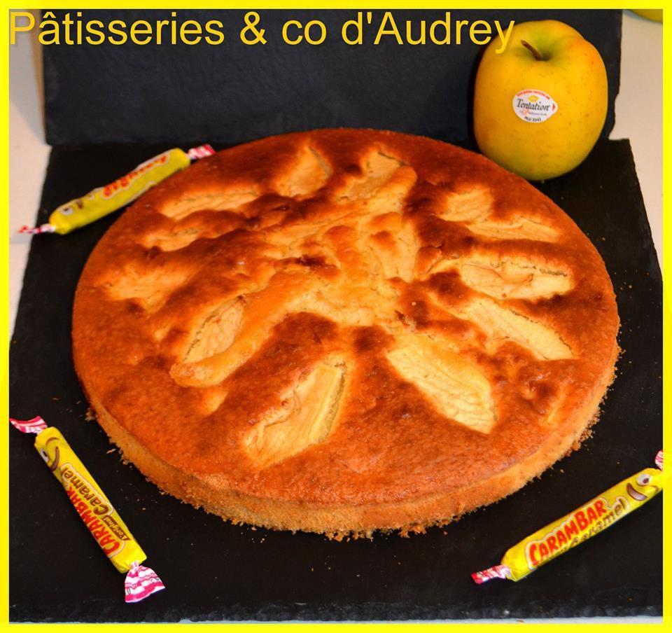 Gâteau au yahourt Pomme Tentation et carambars