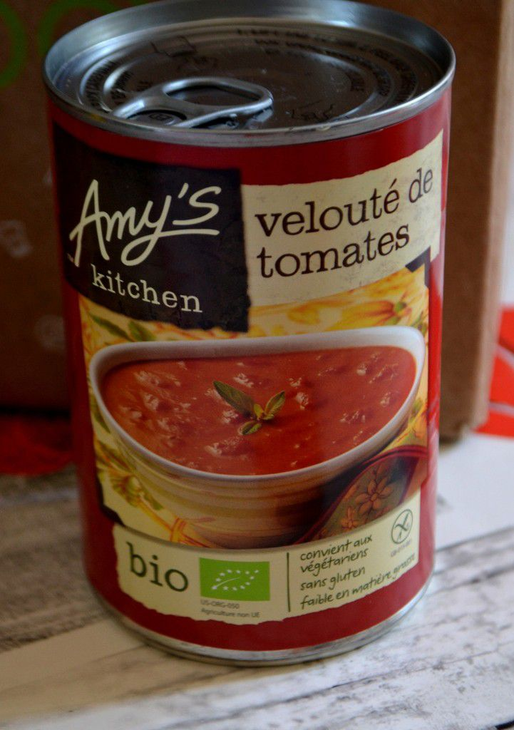 Velouté de tomates Amy's Kitchen