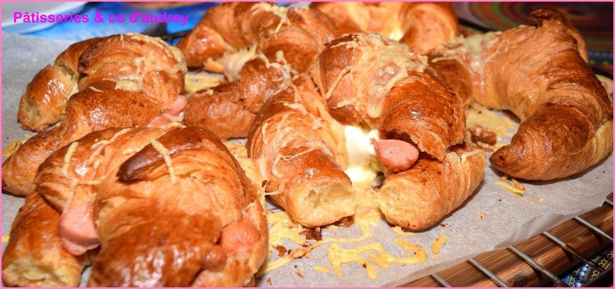 Croissants aux knackis