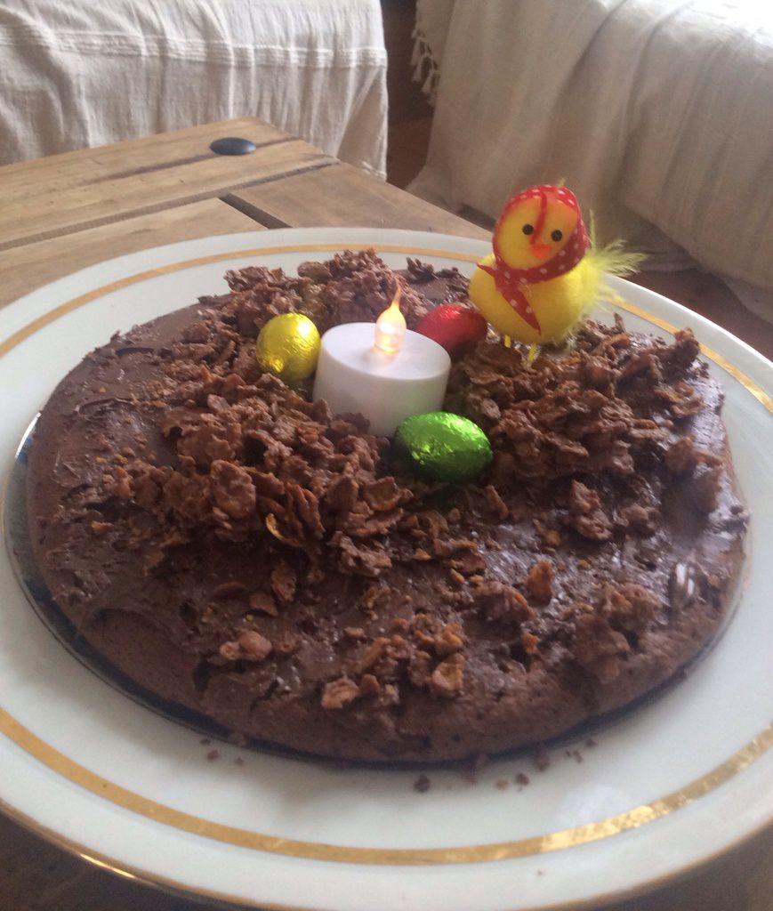 C'est mon gâteau au chocolat !