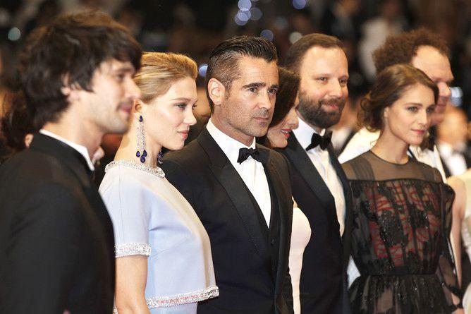 Casting au festival de Cannes - Ben Wishaw, Léa Seydoux, Colin Farrell