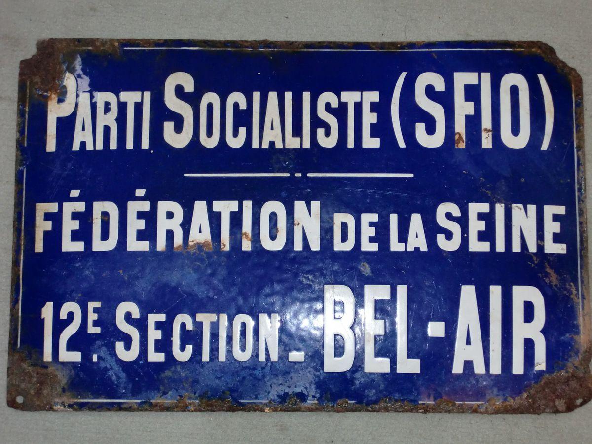 AFFICHES SOCIALISTES