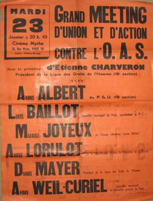 AFFICHES ANARCHISTES