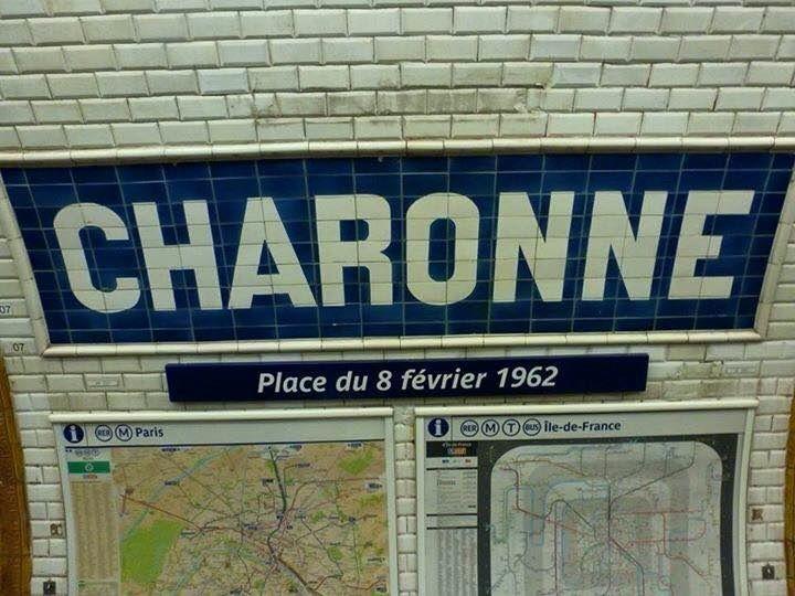 Il y a 53 ans, le 8 février 1962...Souviens-toi de CHARONNE