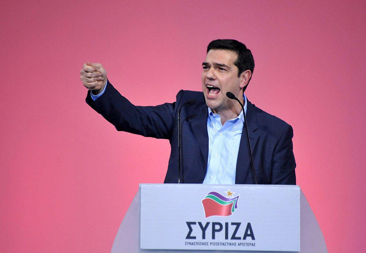 GRÈCE: Le discours d' Alexis TSIPRAS au Comité Central de SYRIZA