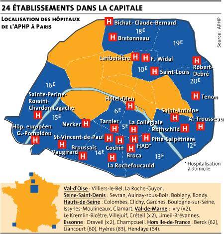HÔPITAUX DE PARIS: Martin Hirsch veut assouplir l'accord sur les 35h pour faire des économies