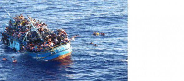 La mort tragique de centaines de réfugiés et immigrants en Méditerranée [Déclaration de la FSM]