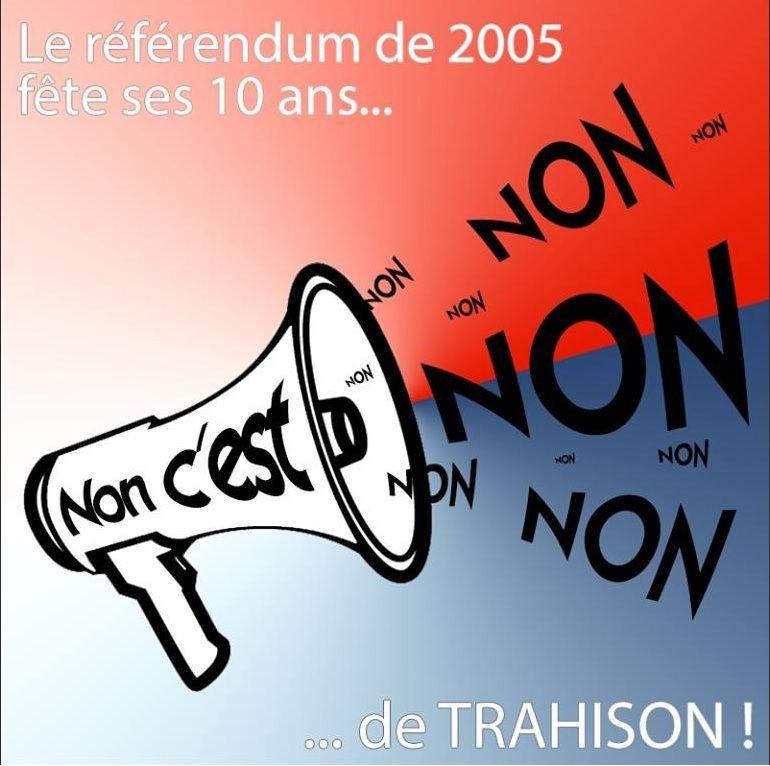 Réveillons la DYNAMIQUE POPULAIRE du « NON » au Traité Constitutionnel Européen !