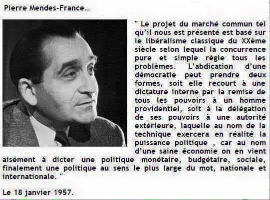 Marché commun : ce que disait Pierre Mendès-France en...1957