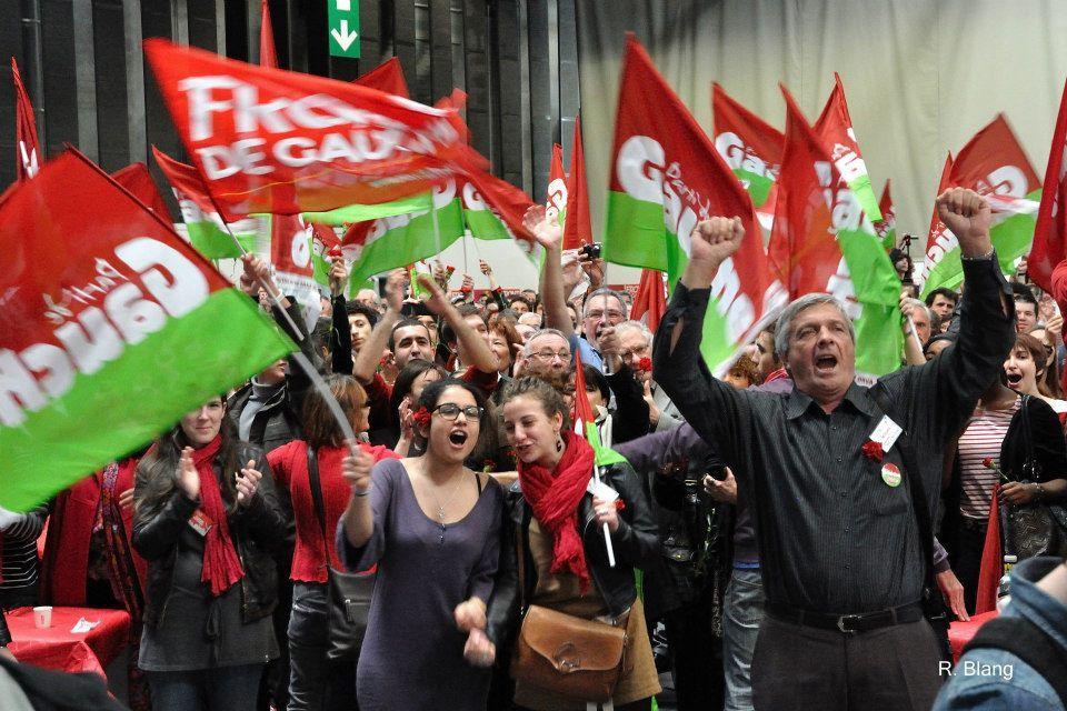 La position du Parti de GAUCHE sur l'Union Européenne et l'EURO