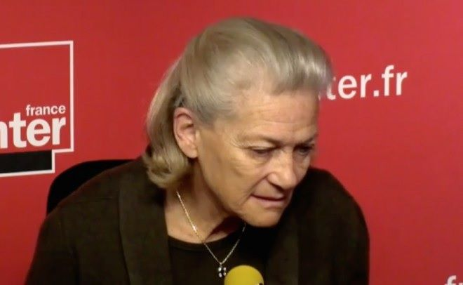 Elisabeth Badinter (Capture écran France Inter)