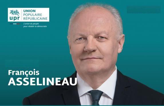 François Asselineau,  Président de l'Union Populaire Républicaine
