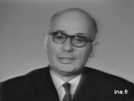 Waldeck Rochet, secrétaire général du Parti communiste français en 1965