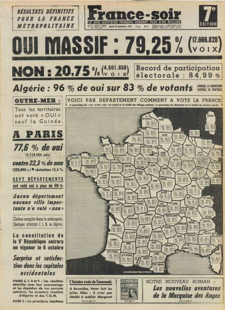 Il y a 58 ans en France: Le COUP D'ÉTAT du 13 MAI 1958