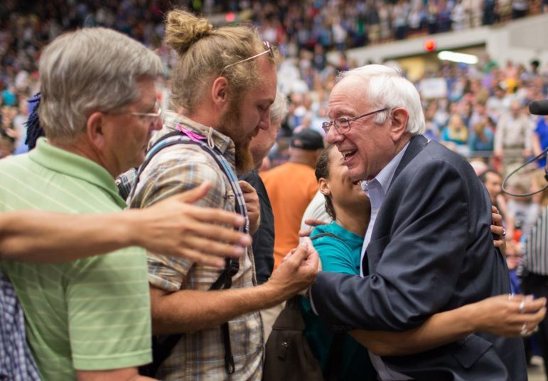Meeting de Bernie Sanders (source: berniesanders.com )