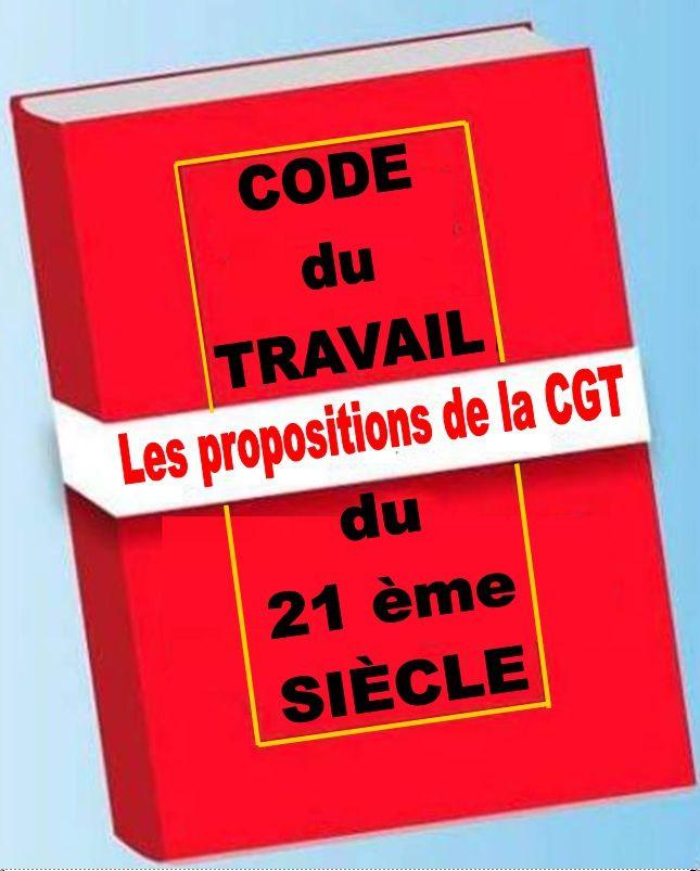 Loi TRAVAIL: les PROPOSITIONS la CGT remises à la MINISTRE DU TRAVAIL et du dialogue social le 17 juin 2016