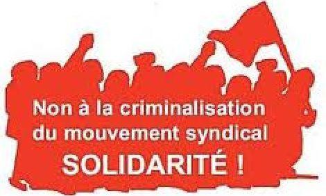 Procédure judiciaire contre un militant CGT arrêté lors de la manifestation du 14 juin [Communiqué de la CGT]