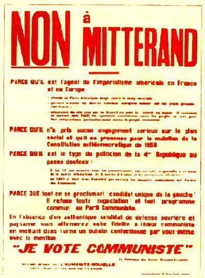 """Affiche marxiste-léniniste éditée par """"L'Humanité nouvelle"""" en 1965"""