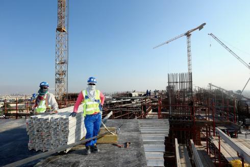 Au Qatar, les constructions se poursuivent © 2016 Getty Images