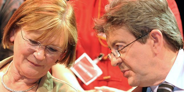 PCF: le soutien de Marie-George Buffet à Jean-Luc Mélenchon