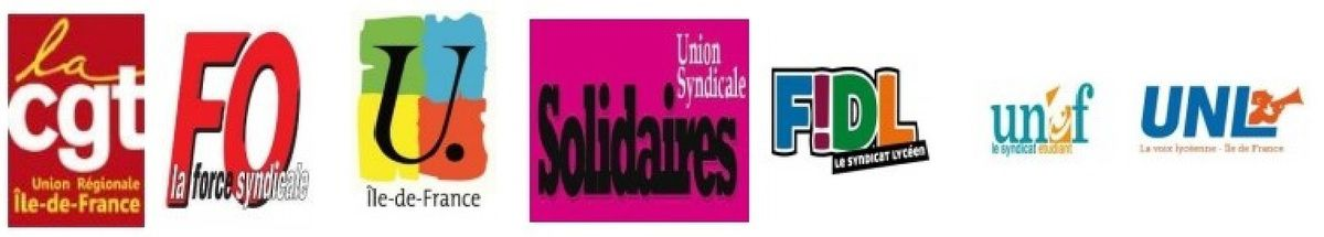 LOI TRAVAIL : Le souffle ne nous manque pas ! [Communiqué CGT, FO, FSU, Solidaires, UNEF, UNL, FIDL]