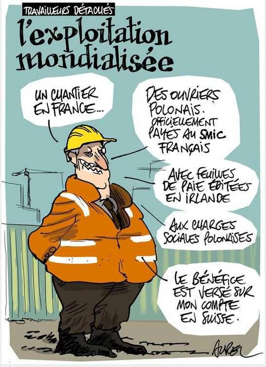 Union Européenne: à propos des travailleurs détachés...