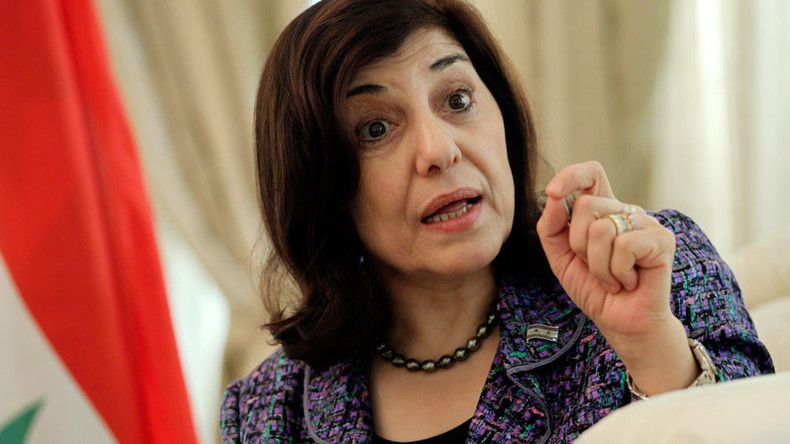 Bouthaina Shaaban  (StringerSource: Reuters)