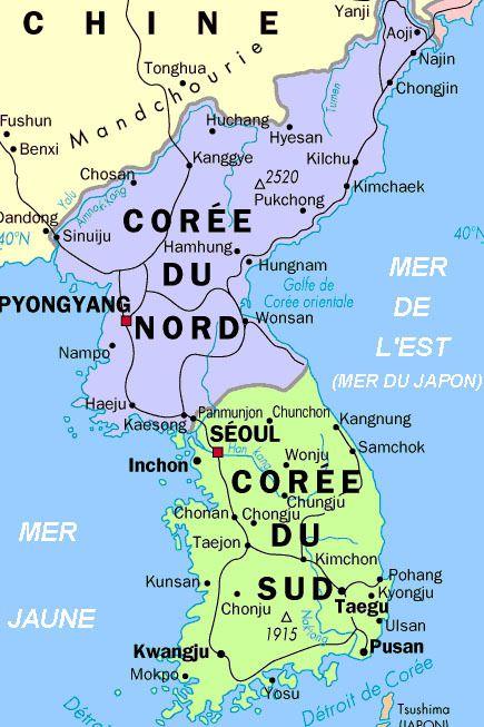 PYONGYANG [Corée du Nord] « sera réduite en cendres et rayée de la carte » (Les autorités sud-coréennes)