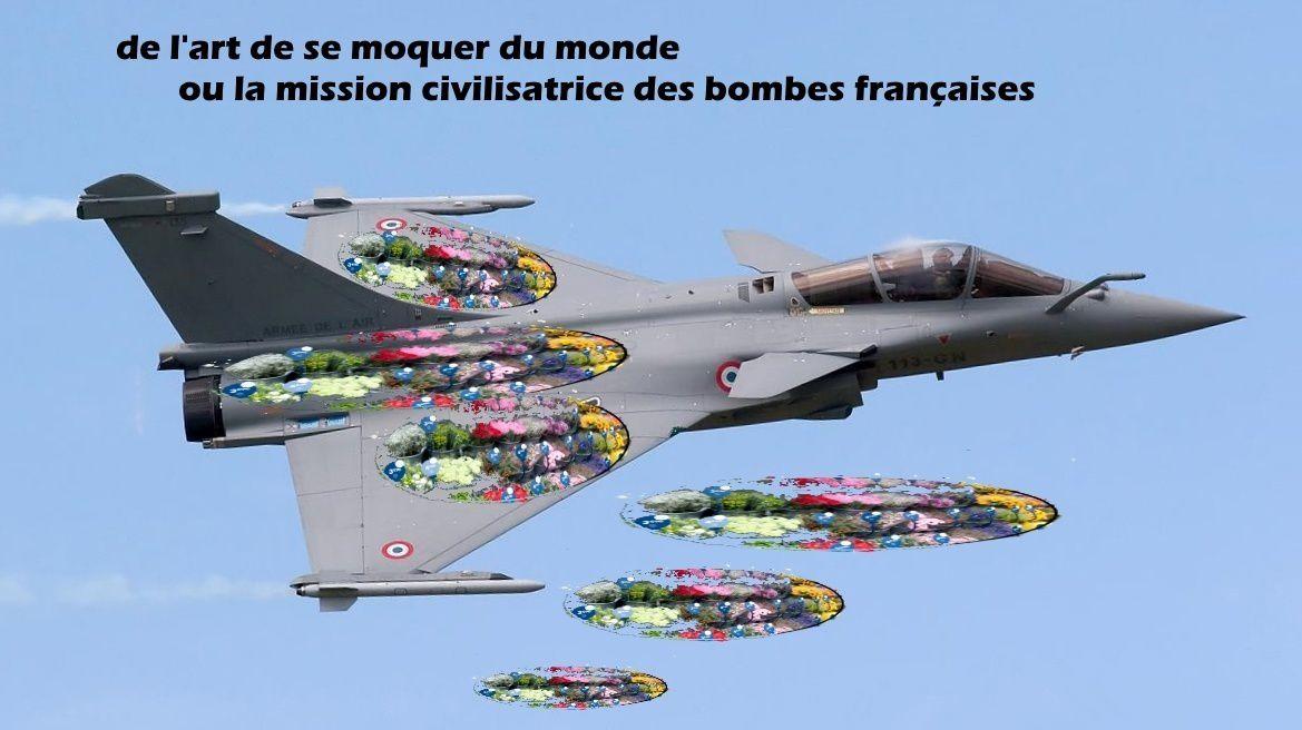 IRAK, SYRIE, les bombes de la coalition dite internationale apportent-elles au peuple la paix et la démocratie?