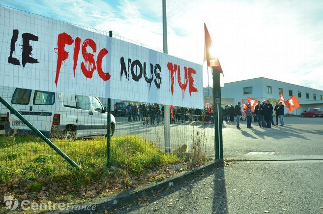 LIMOGES (Haute-Vienne) : le FISC veut-il TUER l'imprimerie Rivet et laisser 80 salariés sur le carreau ?