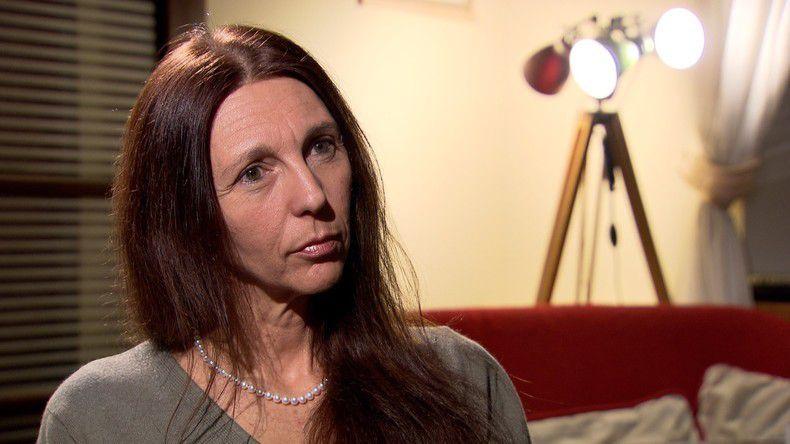 Stéphanie Gibaud, lanceuse d'alerte dans l'affaire UBS (source photo : RT)