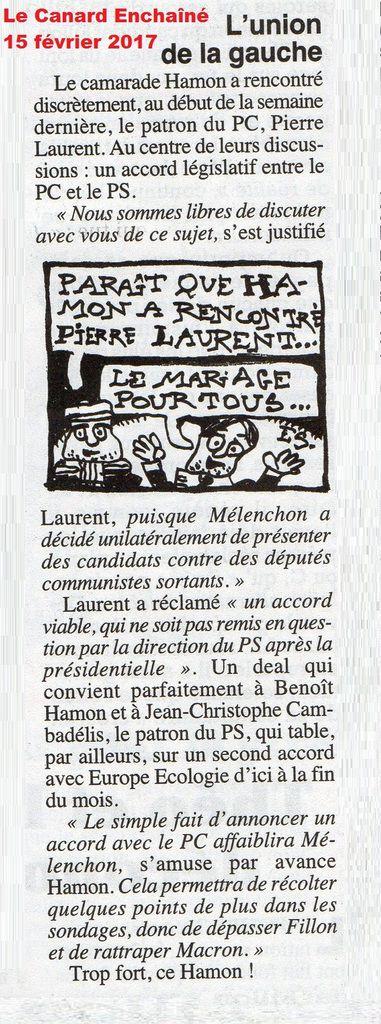 RENCONTRE « discrète » Benoît HAMON-Pierre LAURENT…