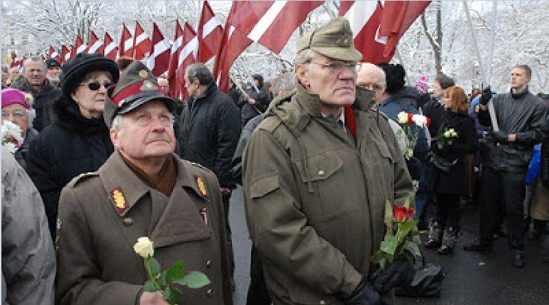Marche SS à Riga (Lettonie) : L'Union Européenne aime les NAZIS quand les nazis n'aiment pas la Russie