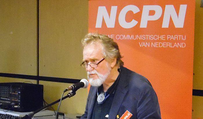 Wil van der Klift, secrétaire général du Nouveau Parti communiste des Pays-Bas