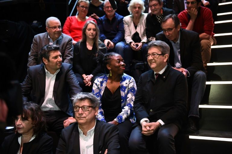 Jean-Luc Mélenchon avant le débat TV sur TF1 le 20 mars 2017 (source photo: Bourse Direct)