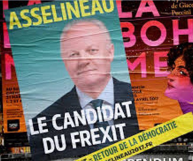 ASSELINEAU : « petit » candidat peut être …. Mais beaucoup de monde à ses meetings !