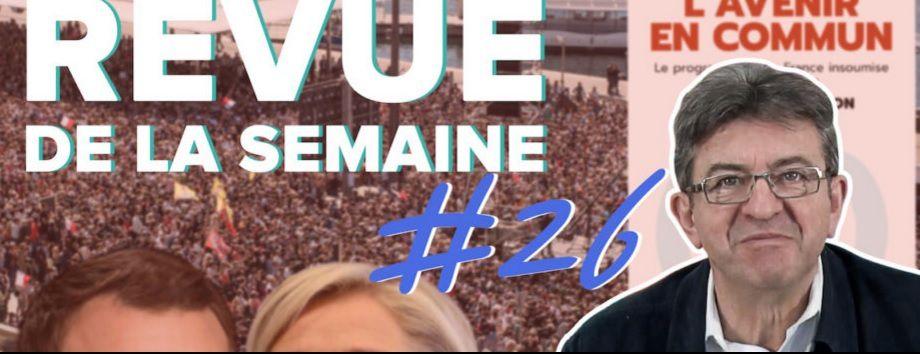 Jean-Luc MÉLENCHON après le premier tour de la présidentielle [VIDÉO]