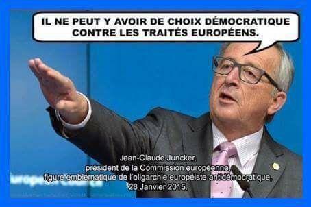 JUNCKER, la commission EUROPÉENNE et la DÉMOCRATIE...