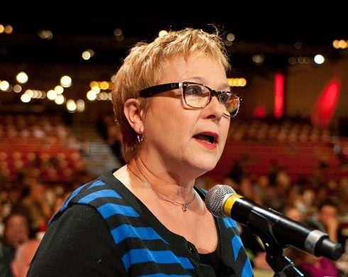 Brigitte Dionnet, ex-membre du Conseil National du PCF