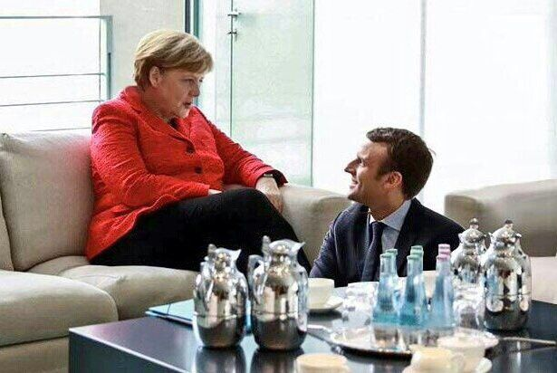 Angela Merkel et Emmanuel Macron - photo d'illustration (source: maviemonargent.info)