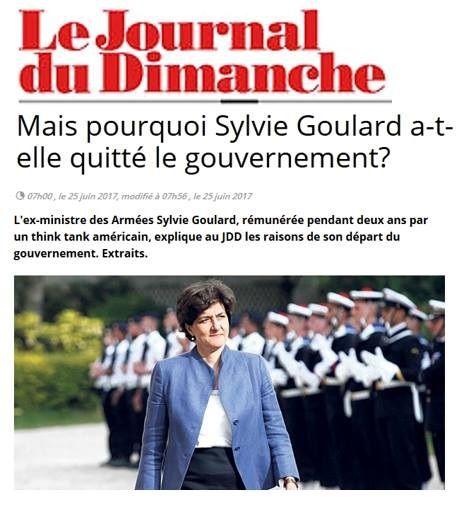 Quand Sylvie GOULARD prenait l'argent de l'Oncle Sam pour faire la propagande de l'Union Européenne…
