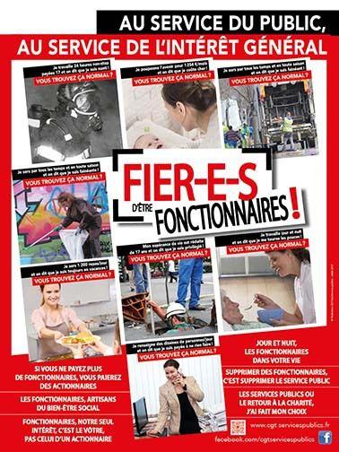 776239336f2 FIER-E-S d être FONCTIONNAIRES ! (une campagne de la CGT Services Publics)