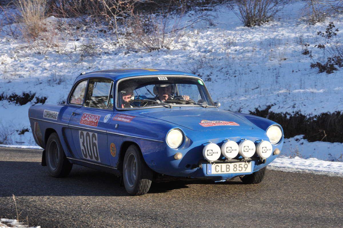 Renault Caravelle 1965...Peter Bergquist(S)/Johnny Nilsson(S)...60ième
