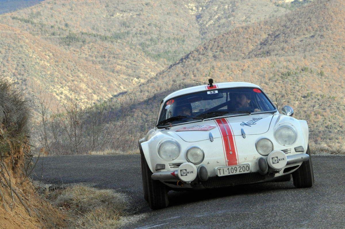 1iers : Daniele Perfetti(Ch)/Ronnie Kessel(GB) Alpine A110 1600 S  .....   Photo :  Rémi Saumont