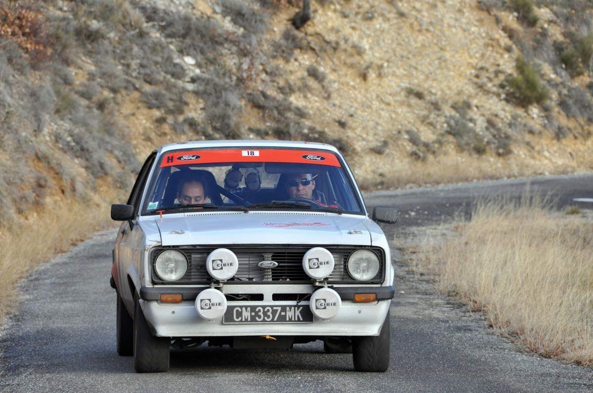 8ième : Laurent Bouterin(F)/Christian Fine(F)  Ford Escort RS 2000 MKII  .....  Photo : Rémi Saumont