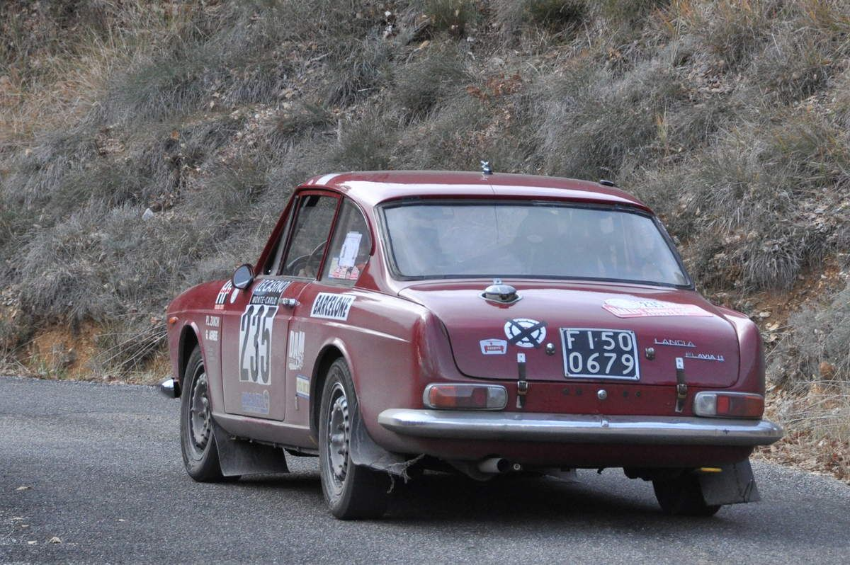 Piero Lorenzo Zanchi(I)/Giovanni Agnese(I) Lancia Flavia 1,8 Coupé 1963 (17 ième)
