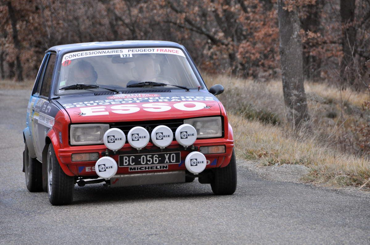 Bruno Joly(F)/Yves Charpentier(F) Peugeot 104 ZS 1979 (30ième)