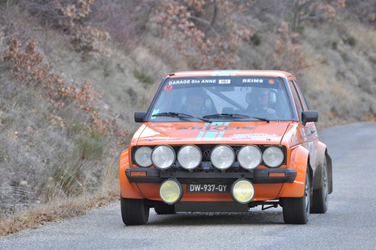 Fabrice Berruer(F)/Vincent Christophe(F) VW Golf GTI 1979 (abandon)