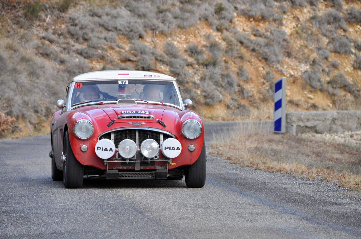 David Stanley(MC)/Bernard Northmore(GB) Austin Healey 3000 Mk II 1962 (107 ième)